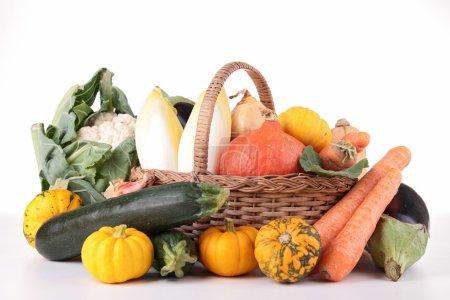 Heap of vegetable