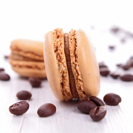 Photo for Coffee macaroons - Royalty Free Image