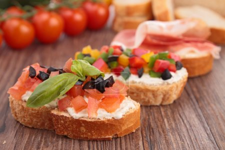Photo for Bruschetta - Royalty Free Image