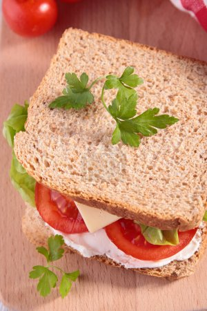 Photo for Sandwich close up - Royalty Free Image
