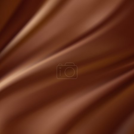 Photo for Abstract chocolate background, brown abstract satin - Royalty Free Image