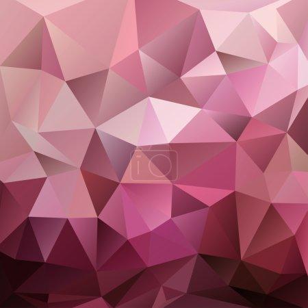 Ilustración de Triángulo rojo Resumen Antecedentes, vector illustration eps10, objetos transparentes - Imagen libre de derechos