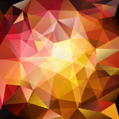 Abstract triangle red yellow background vector illustration eps10 transparent objects