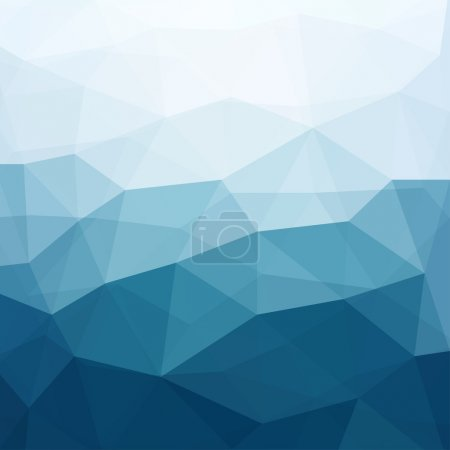 Illustration for Abstract Triangle Geometrical Multicolored Background, Vector Illustration EPS10 - Royalty Free Image