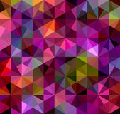 Abstract Triangle Geometrical Multicolored Background Vector Illustration EPS8