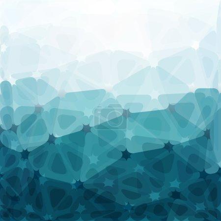 Ilustración de Triángulo abstracto geométrico fondo multicolor. patrón de formas geométricas. banner colorido mosaico. Vector ilustración eps10 - Imagen libre de derechos