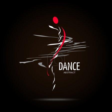 Abstract Vector Logo Design Template. Creative Dan...