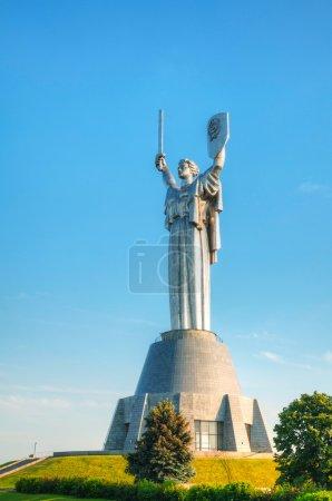 Mutterland-Denkmal in Kiew, Ukraine