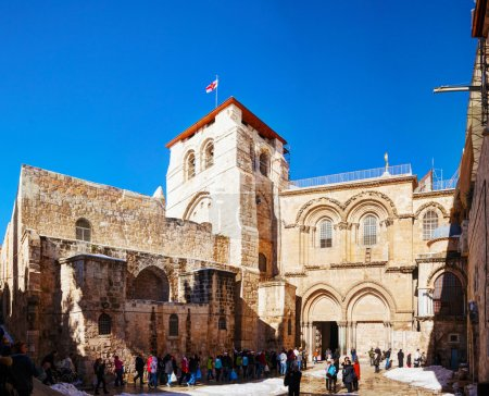 The Church of Holy Sepulcher in Jerusalem