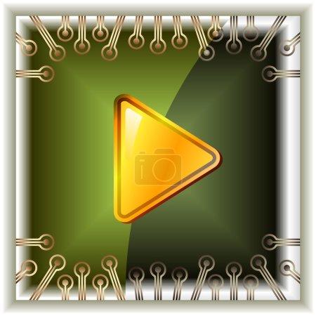 Photo pour Touche vidéo - image libre de droit