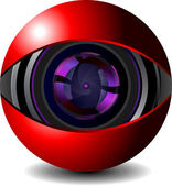 Digital webcam icon