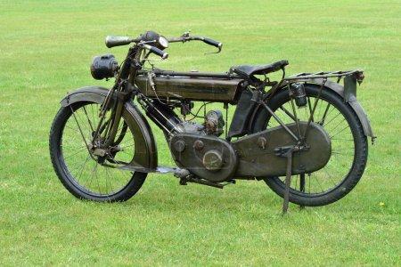First world war motorbike