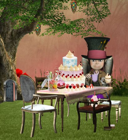 The mad hatter birthday