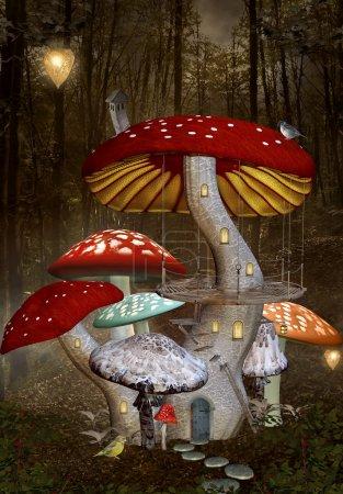 Mushrooms palace