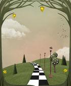 Wonderland jarní cesta