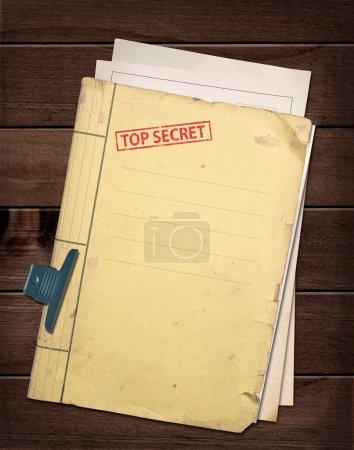 top secret file.