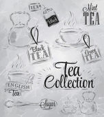 Set of tea collection