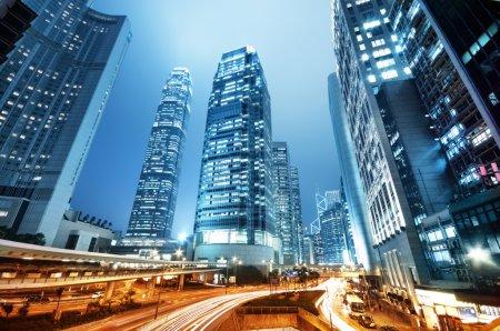 Skyscrapesr in Hong Kong