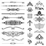Set of design elements...