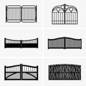 Set of six gates