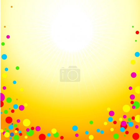 Illustration for Fun background. Vector. - Royalty Free Image