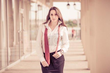 Business lady portrait