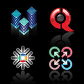 The emblems for your logos design vector illustration