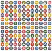 Retro barva 144 ikony