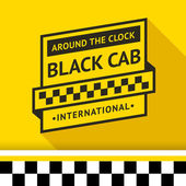 Taxi badge 03 vector illustration 10eps