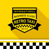 Taxi badge 04 vector illustration 10eps