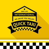 Taxi badge 05 vector illustration 10eps