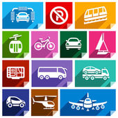 Transport flat icon bright color-06