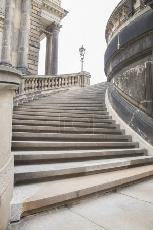 Photo for Stone Stairs in Urban Setting - Royalty Free Image