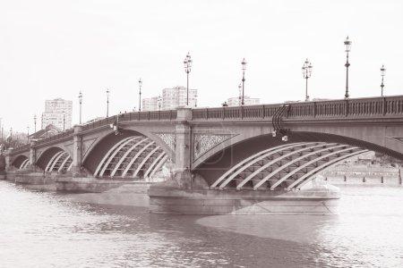 Battersea Bridge Chelsea London England
