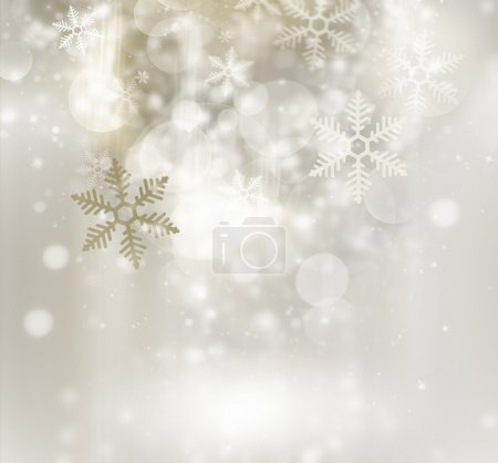 Photo for Abstract golden winter background - Royalty Free Image
