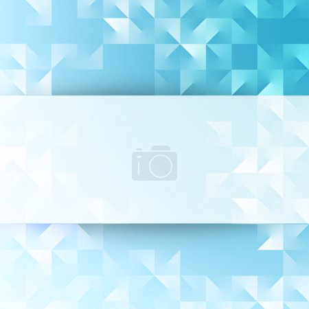 Abstract background of blue color