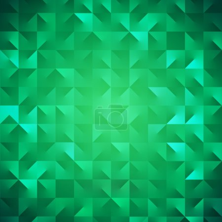 Modern abstract green background for Saint Patrick's Day