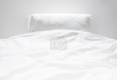 Photo for White fresh linen nobody - Royalty Free Image