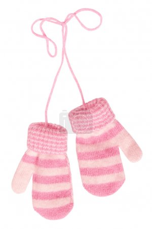 Photo for Baby`s mittens - Royalty Free Image
