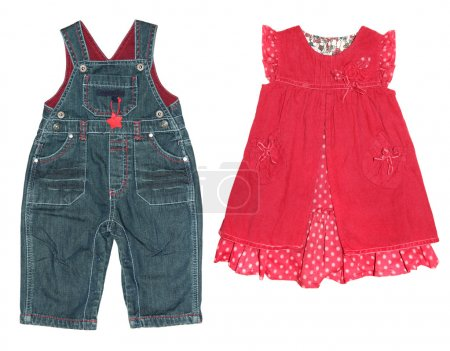 Children's clothes, for girl and boy