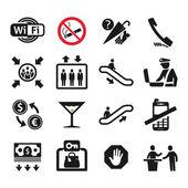 Public places Information signs