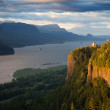 Oregon landscape - Crown Point overlooking the Col...