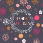 Seasons Greetings Print Design...