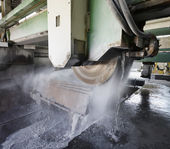 marble cutting factory