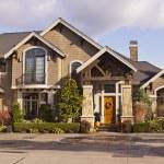 A modern custom built luxury house in a residentia...