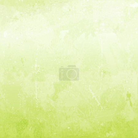 Illustration for Abstract distressed background in shades of light green. - Royalty Free Image