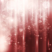 Abstract Christmas winter background with light effects stars and blurry