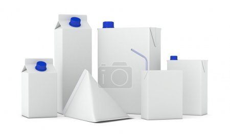 blank carton packages