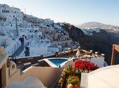 Greek house and yard