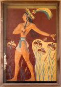Greece Crete Heraklion Knossos Palace